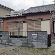 上尾市東町 平屋建物解体工事 前