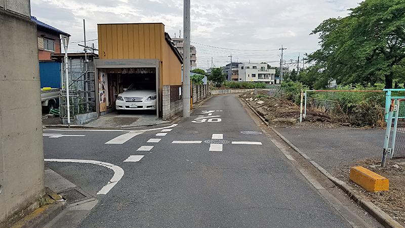 エーライン駐車場案内_東浦和駅前交差点